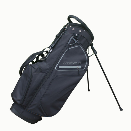 Hot-Z Golf: 2.0 Stand Bag - Black/Grey *Estimated Ship Date – Late February 2021*