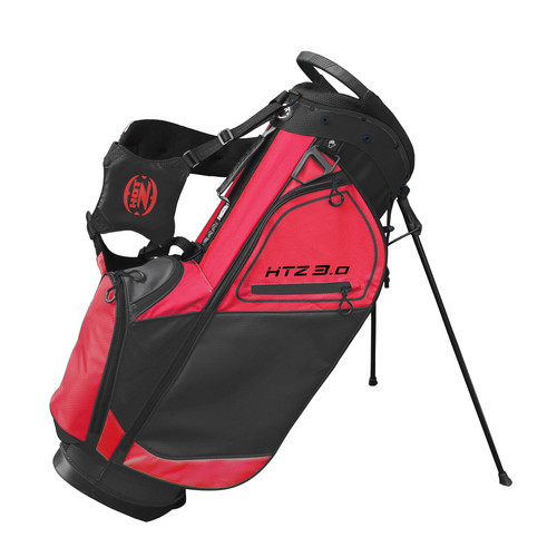 Hot-Z Golf: 3.0 Stand Bag - Red/Black **Estimated Restock Date Mid/Late Sept 2021