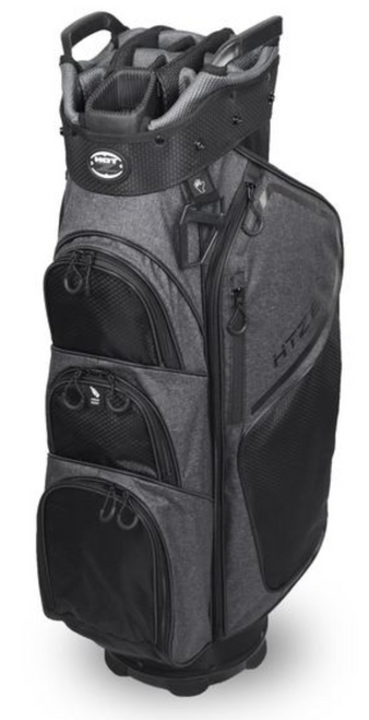 Hot-Z Golf: 6.0 Cart Bag - Gray/Black