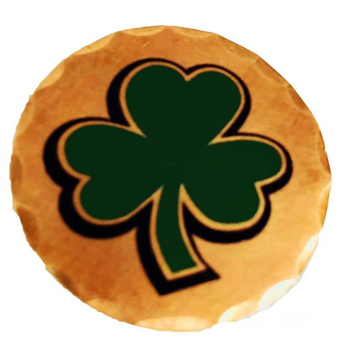 Sunfish: Copper Ball Marker - Shamrock 4 Leaf Clover