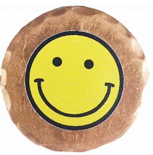 Sunfish: Copper Ball Marker - Smiley Face
