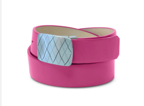 Golf Knickers: Women's Couture Leather Golf Belt