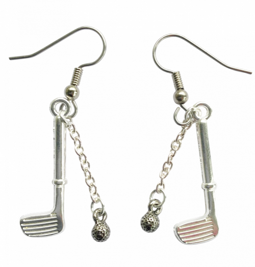 "One Putt Designs - ""Swing"" Earrings"
