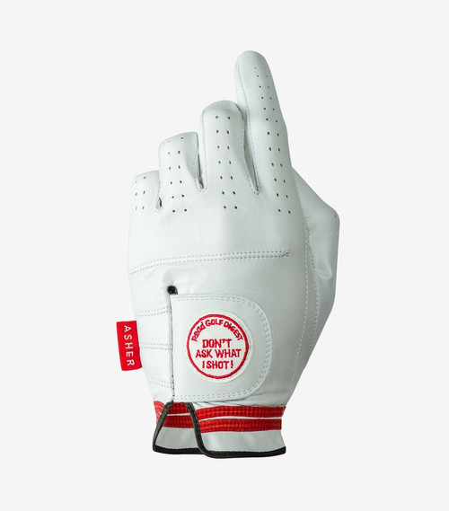 Asher Golf: Men's Premium Golf Glove - Don't Ask What I Shot