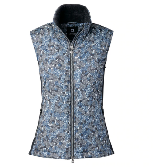 Daily Sports: Women's Vendela Quilted Vest - Navy (Size: Small) SALE