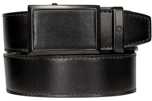 Nexbelt: Men's Go-In Traditions Belt - Smooth Black