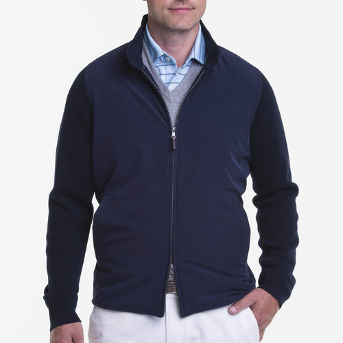 Fairway & Greene: Men's Hybrid Windbreaker