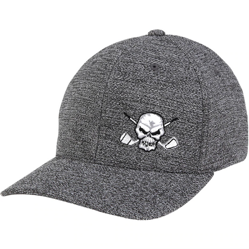 Tattoo Golf: Skull Design Fitted Golf Hat
