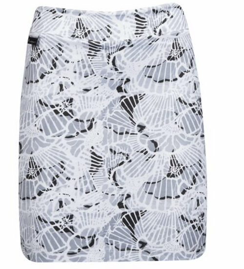 Nancy Lopez Golf: Women's Club Skort - Wave Print (Black Multi, Size: Medium) SALE