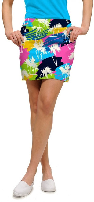 Loudmouth Golf: Women's StretchTech Skort - Sunset Boulevard
