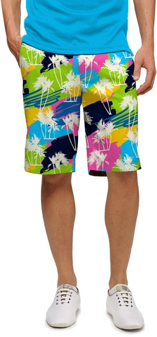 Loudmouth Golf: Men's StretchTech Shorts - Sunset Boulevard