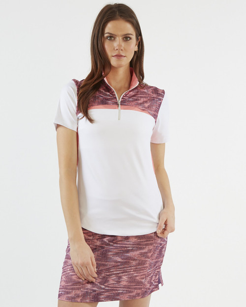 Chase 54: Women's Short Sleeve Polo - Rapid