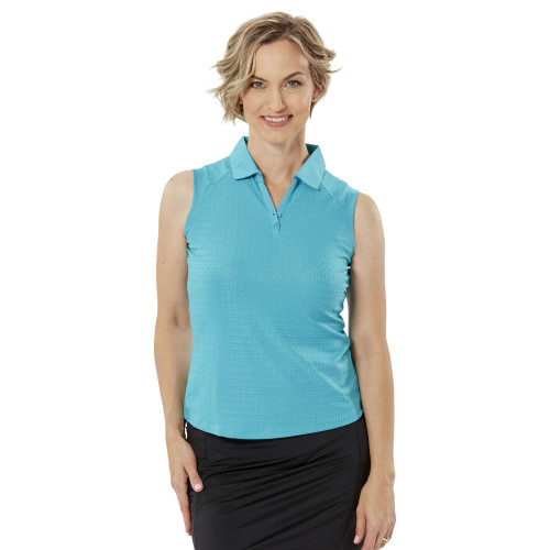 Nancy Lopez Golf: Women's Sleeveless Polo - Journey