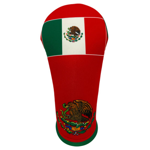 BeeJos: Golf Head Cover - Flag of Mexico