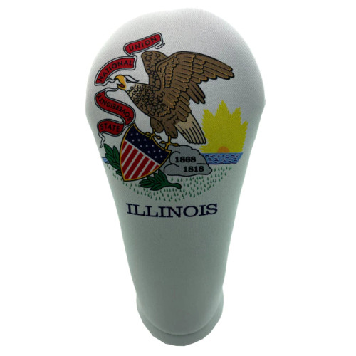 BeeJos: Golf Head Cover - Illinois State Flag