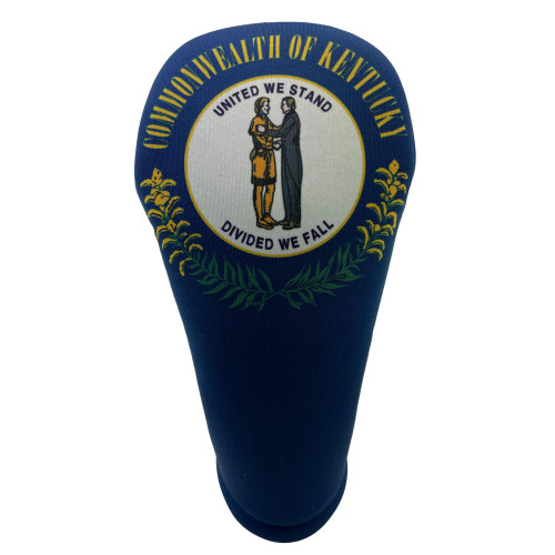 BeeJos: Golf Head Cover - Kentucky State Flag