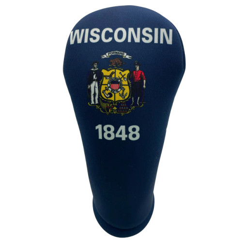 BeeJos: Golf Head Cover - Wisconsin State Flag