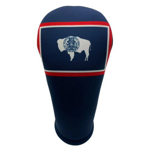 BeeJos: Golf Head Cover - Wyoming State Flag