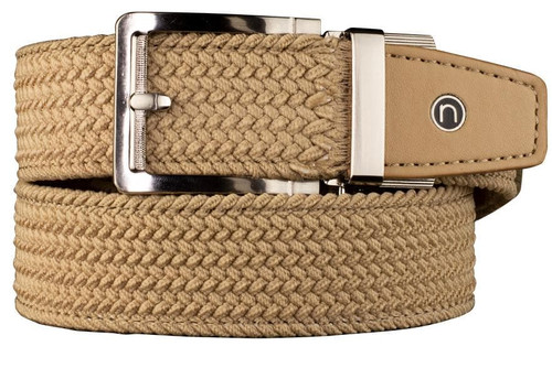 Nexbelt: Men's Braided Belt - Tan 2.0