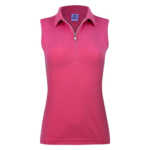 Daily Sports: Women's Macy Sleeveless Polo - Fruit Punch Red
