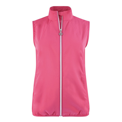 Daily Sports: Women's Mia Wind Vest - Fruit Punch Red