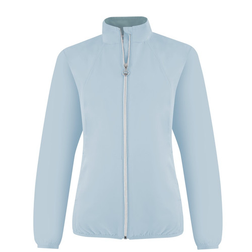 Daily Sports: Women's Mia Wind Jacket - Breeze Blue