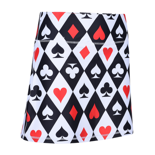 Casino Royale Ladies Active SKORT by ReadyGOLF