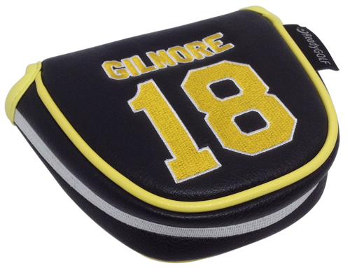 Gilmore #18 Jersey Embroidered Putter Cover - Mallet