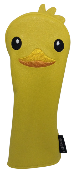 ReadyGolf: Embroidered Animal Hybrid Headcover - Rubber Duckie
