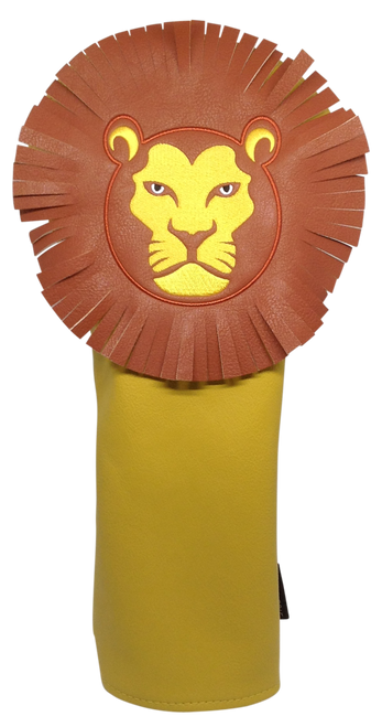 Lion Embroidered Animal Driver Headcover by ReadyGOLF
