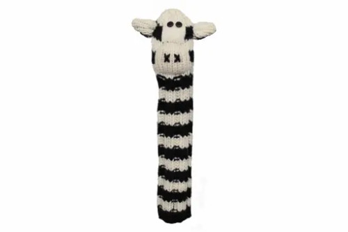 Sunfish: Alignment Stick Covers - Knit Wool Animal