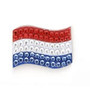 Bonjoc: Ball Marker & Hat Clip - The Netherlands Flag