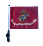 SSP Flags: 11x15 inch Golf Cart Flag with Pole - Licensed US Marines