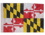 SSP Flags: 11x15 inch Golf Cart Replacement Flag - Maryland