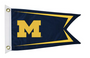 Bag Boy: Collegiate 12' x 18' Golf Cart Flag - Michigan Wolverines