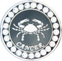 BELLA Swarovski Crystal Ball Marker & Hat Clip - Zodiac Cancer