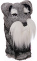 Daphne's HeadCovers: Schnauzer Dog Golf Club Cover
