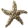 ReadyGolf: 3D Starfish Ball Marker & Hat Clip