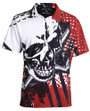 Tattoo Golf: Men's Performance Blade Polo - Red