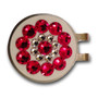 Blingo Ball Markers - Red On White