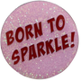ReadyGOLF: Glitter Ball Marker & Hat Clip - Born To Sparkle