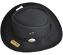 Aussie Chiller Outback Bushie Perforated Hat - Black