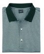 Fairway & Greene: Men's Signature Bar Stripe Lisle Polo