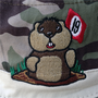 19th Hole Dancing Gopher Camo Bucket Hat by ReadyGOLF