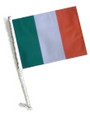SSP Flags: Car Flag with Pole - Ireland