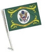 SSP Flags: Car Flag with Pole - Retired Army
