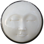 ReadyGolf: Buffalo Bone Carved Moon Face Ball Marker