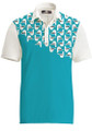 Loudmouth Golf Mens Polo - Fancy Bodega Bay *