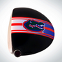 ClubCrown Stripes: Removable Driver Decal - Florida
