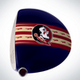 ClubCrown Stripes: Removable Driver Decal - Florida State